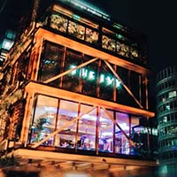 The launch of the Ivy, Spinningfields