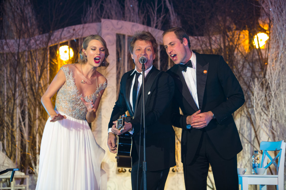 Prince William,Taylor Swift, Jon Bon