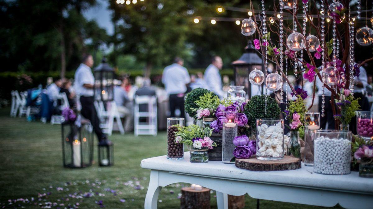 Outdoor wedding by TLC LTD