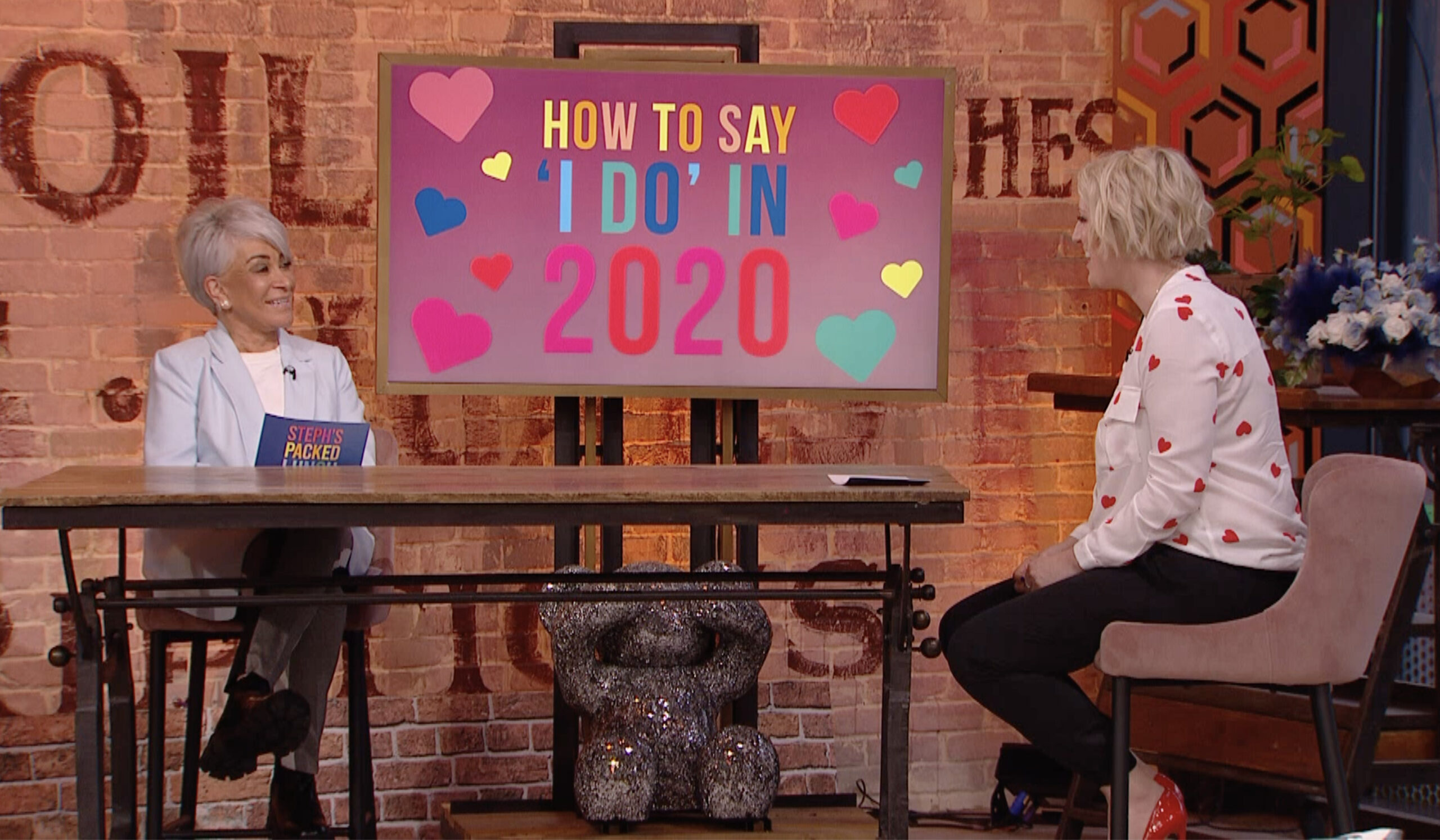 Liz Taylor and Steph McGovern talk weddings