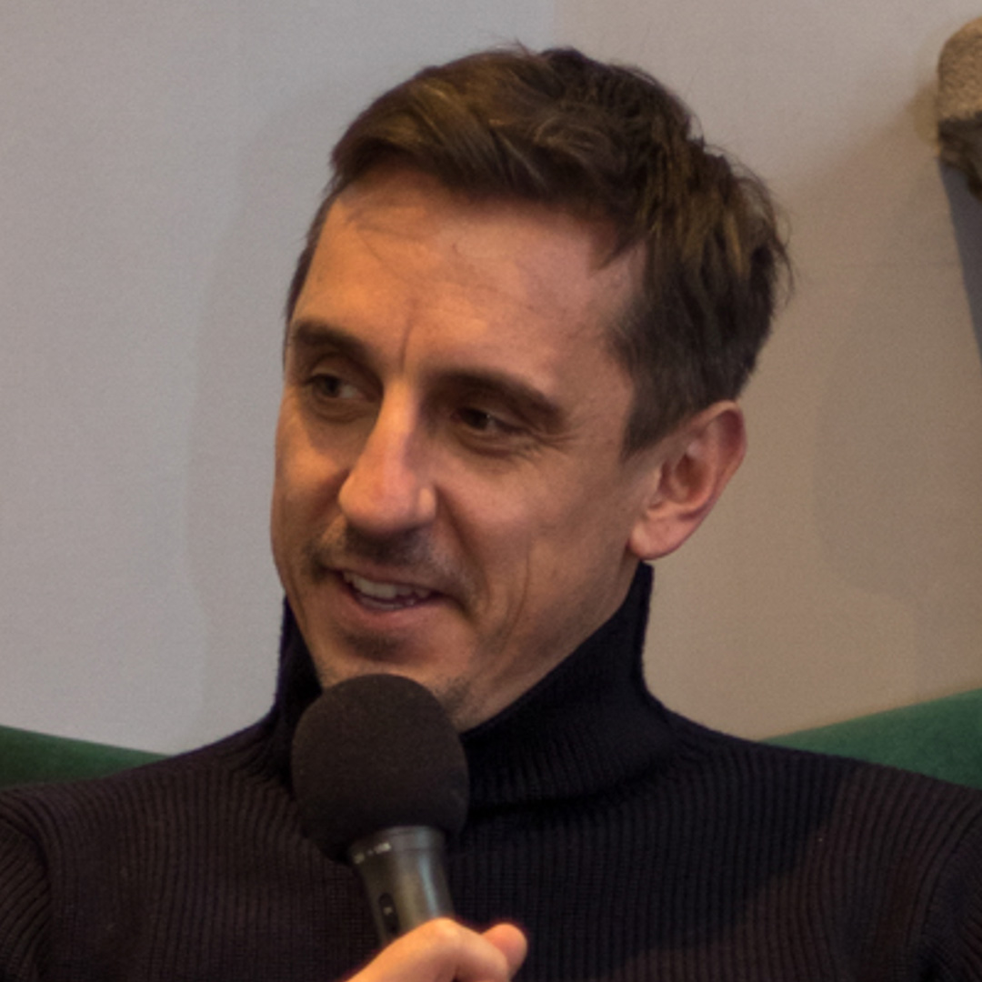 Gary Neville talks with Liz Taylor Events that Made Me