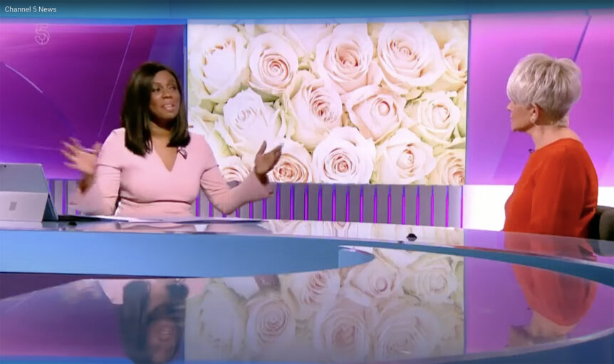 Channel 5 News talk to liz Taylor wedding planner