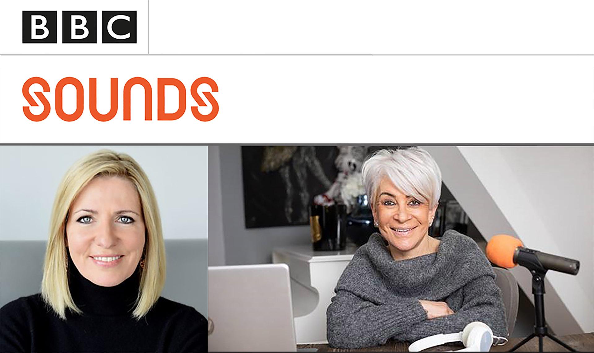 Liz Taylor on BBC Sounds Morning with Jackie Brambles