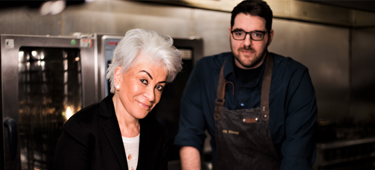 Ed Shaerf Kosher Feast with Liz Taylor
